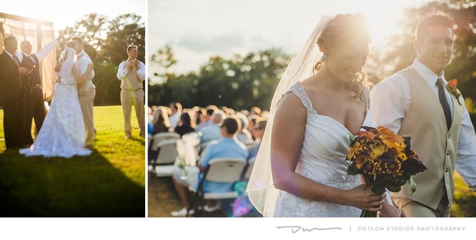 Amanda Burt and Eric Tucker's Ringgold Wedding, Photographed by Dotson Studios