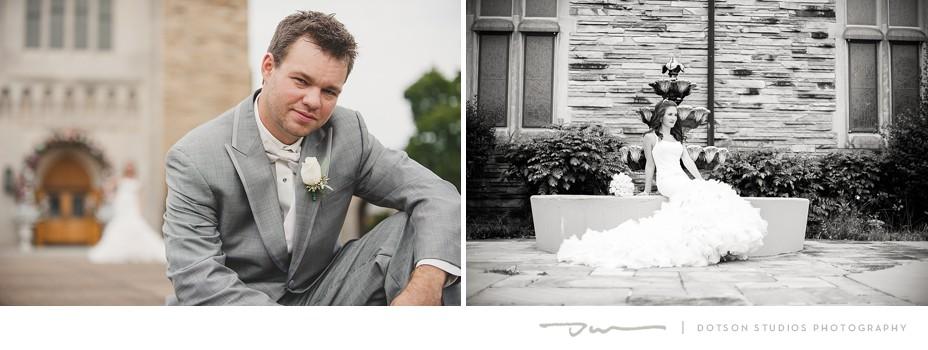 Chattanooga wedding photos of Savanna Allen and Ben Hickman, photography by Dotson Studios