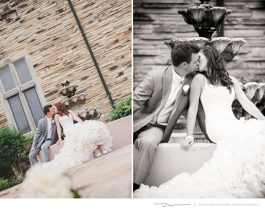 Chattanooga wedding photos of Savanna Allen and Ben Hickman, photography by Dotson Studios