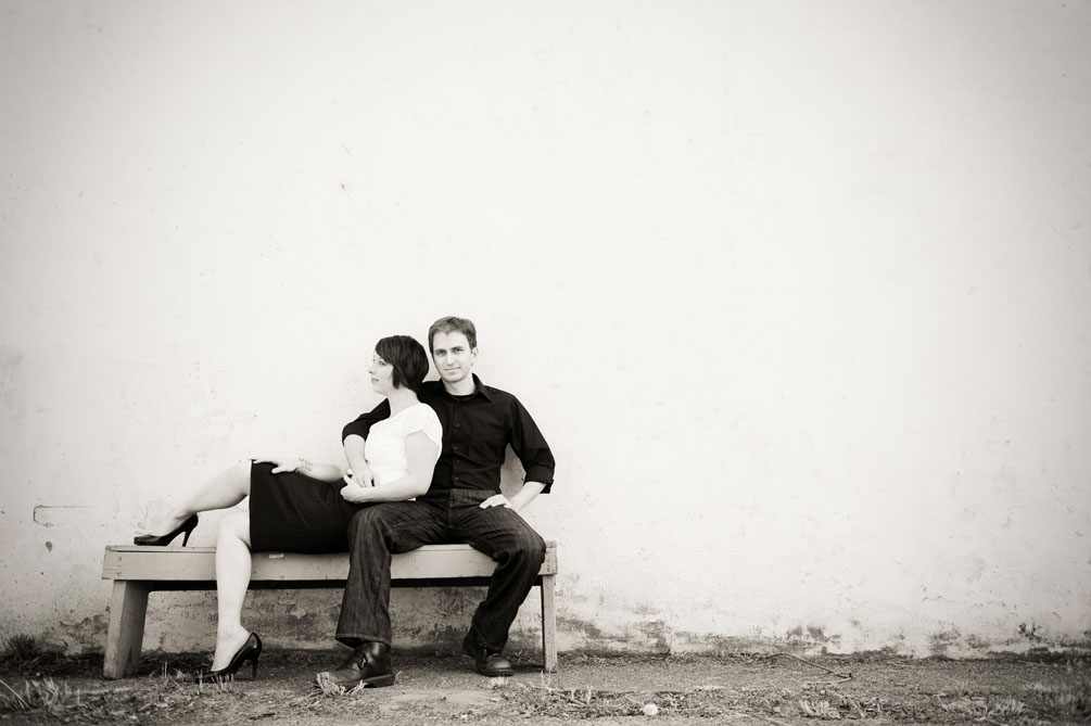 Portrait of Grant Dotson and Sara Dotson, Chattanooga Wedding Photographers in Chattanooga, TN.